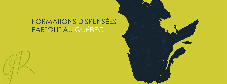 formation partout au Quebec