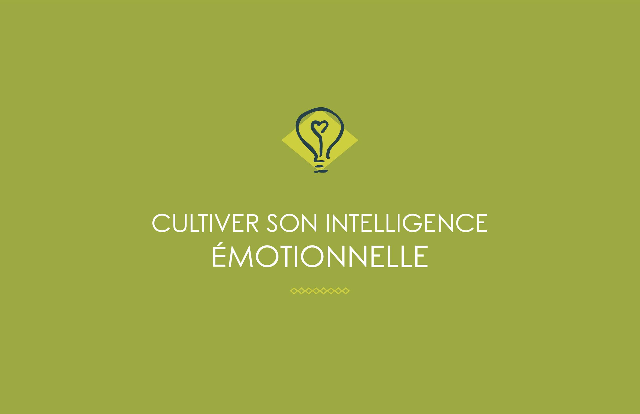 cultiver son intelligence emotionnelle