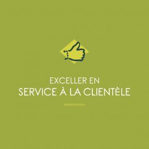 Exceller en service a la clientele